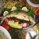 طرز تهیه ماهی جنگلی شکم پر
